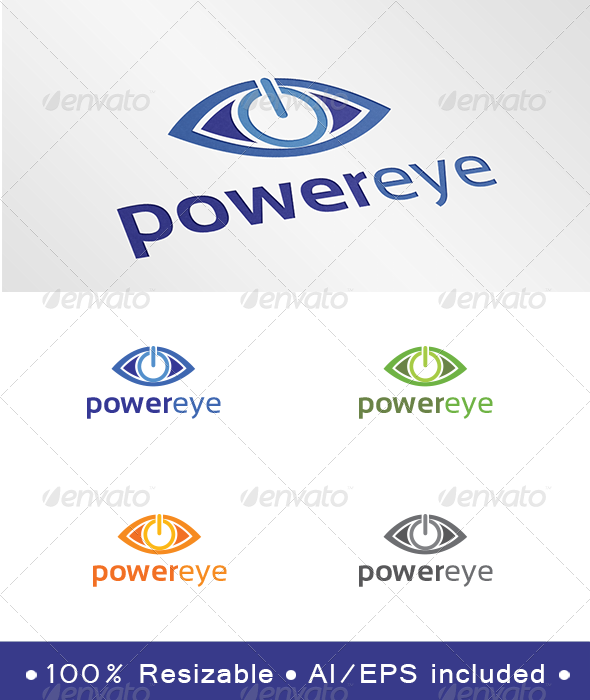 GraphicRiver Power Eye Logo 6797281