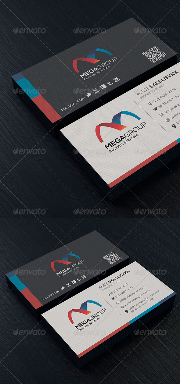Clean Business Card Vol 5 - Corporate Business Cards
