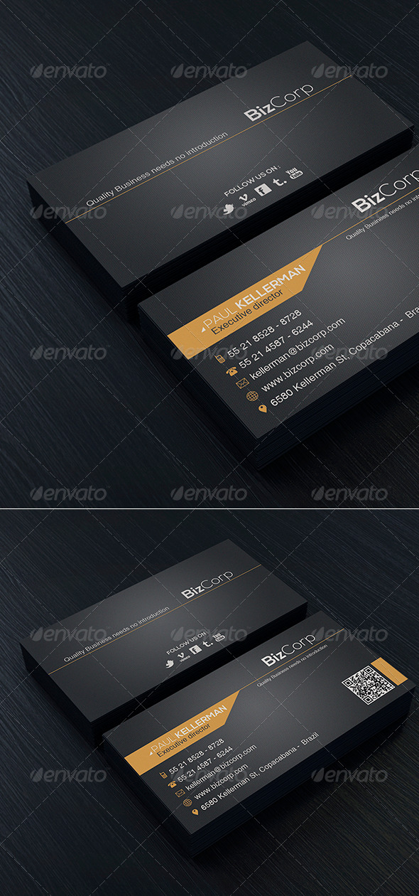 Minimal Business Card Vol 3 - Corporate Business Cards