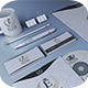 Gold And White Corporate Identity - GraphicRiver Item for Sale
