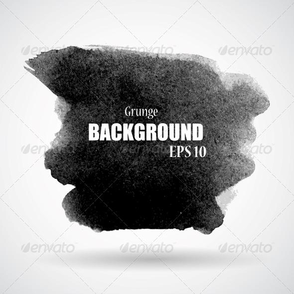 GraphicRiver Abstract Grunge Splash Banner Vector Illustration 6799680