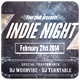 Indie Night - Flyer [Vol.19] - GraphicRiver Item for Sale