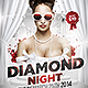 Diamond Night Flyer Template - GraphicRiver Item for Sale