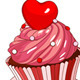 Valentine Cupcakes  - GraphicRiver Item for Sale