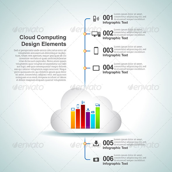 GraphicRiver Cloud Computing Design Elements 6801477