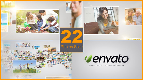 VideoHive 22 Photos Slide Show 6801683