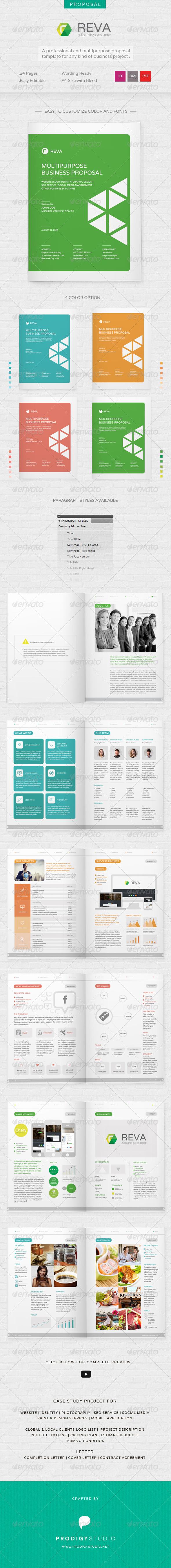 GraphicRiver Reva Multi Purpose Proposal Template 6803021