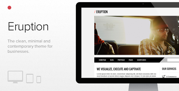 Eruption wordpress - Corporate WordPress