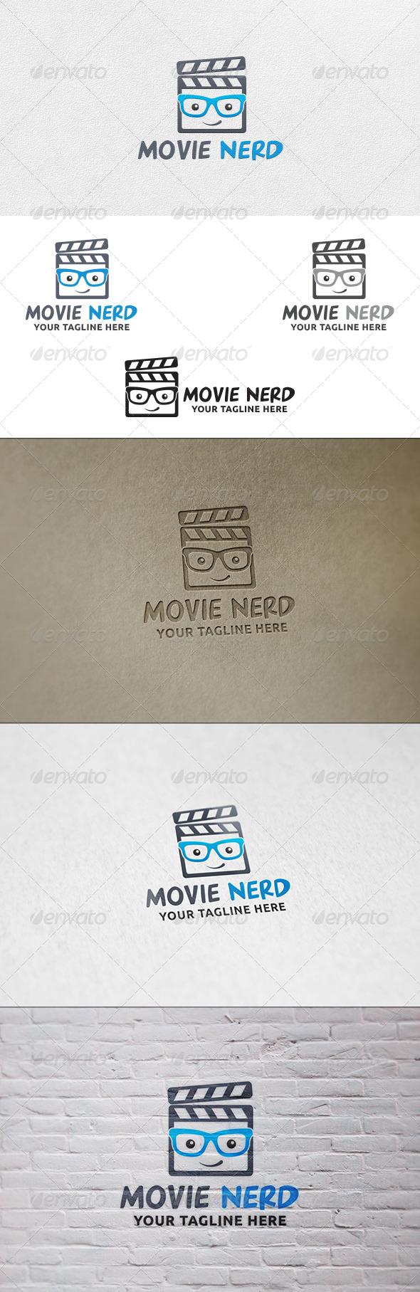 GraphicRiver Movie Nerd Logo Template 6803566