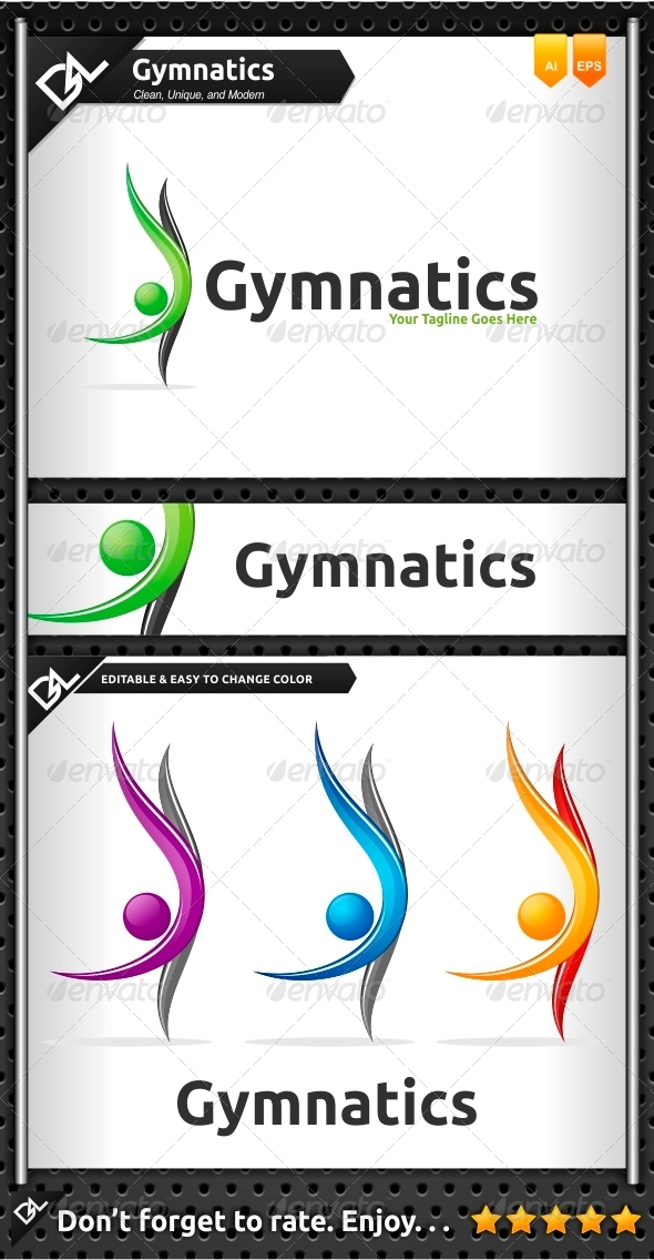 GraphicRiver Gymnatics 6797540