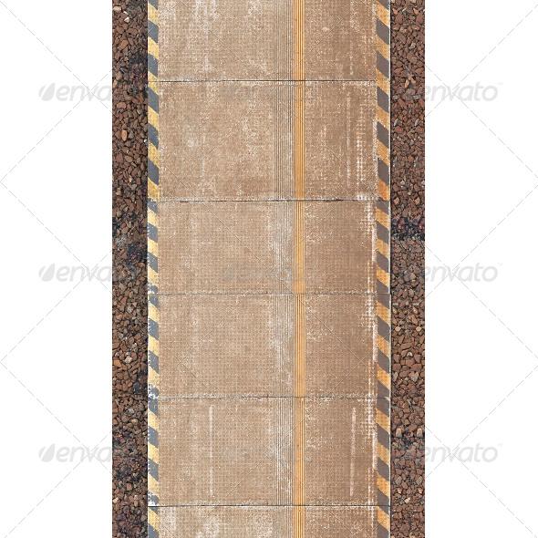 GraphicRiver Railway Platform Texture 6805186