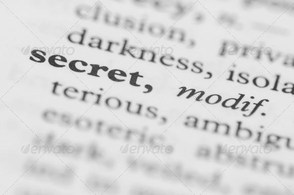 Dictionary Series – Secret