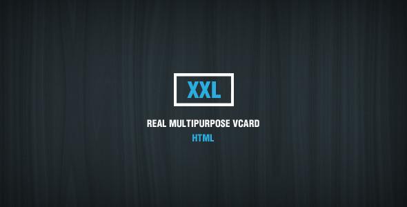 ThemeForest XXL Multipurpose HTML vCard 6806931