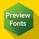 Preview Fonts Flash - ActiveDen Item for Sale