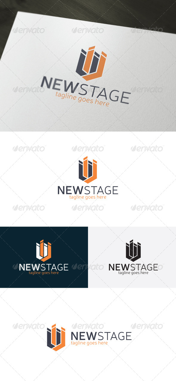 GraphicRiver New Stage Logo 6807266