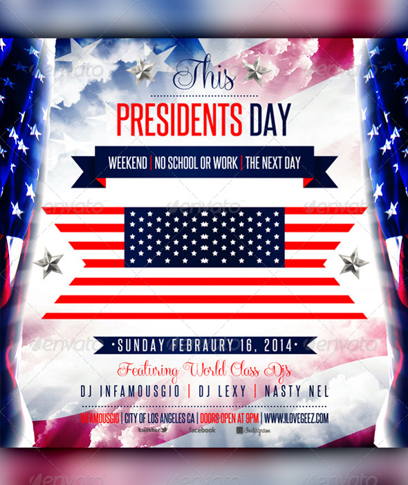 GraphicRiver Presidents Day 2 6808478
