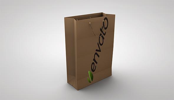 3DOcean Paper Bag 6808881