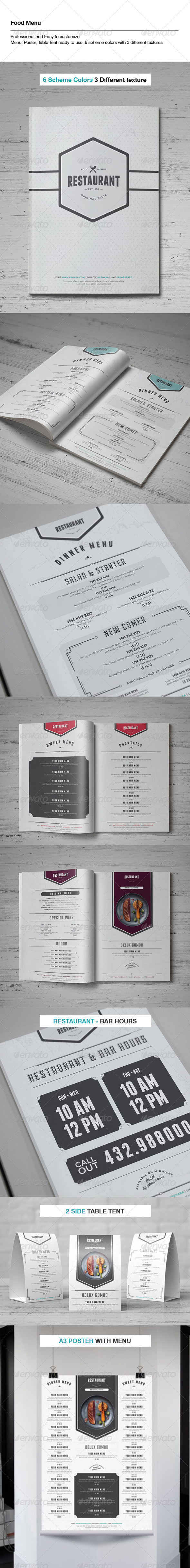 GraphicRiver Food Menu Template 6809606