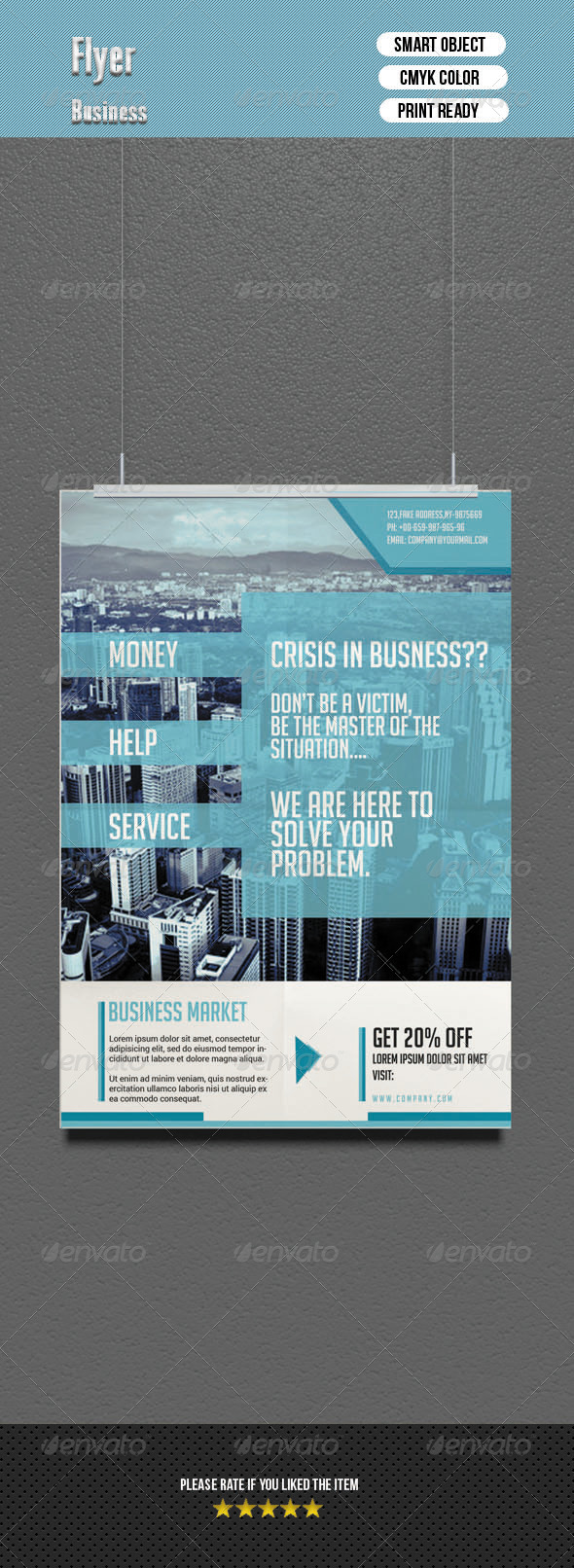 GraphicRiver Corporate Flyer 6810080
