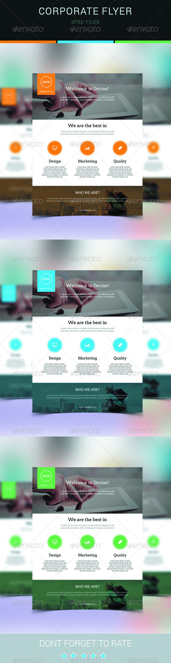 GraphicRiver Clean Corporate Flyer Template-Multipurpose 6811096