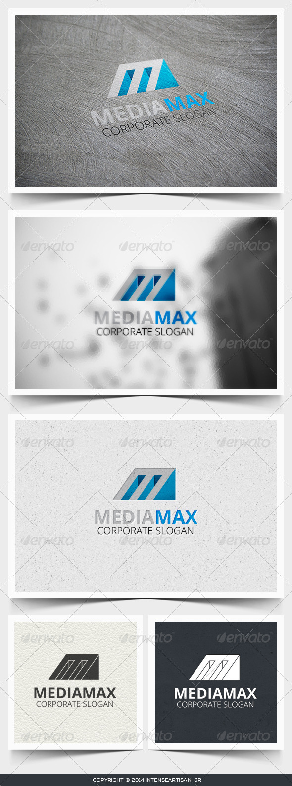 GraphicRiver Media Max Logo Template 6811436