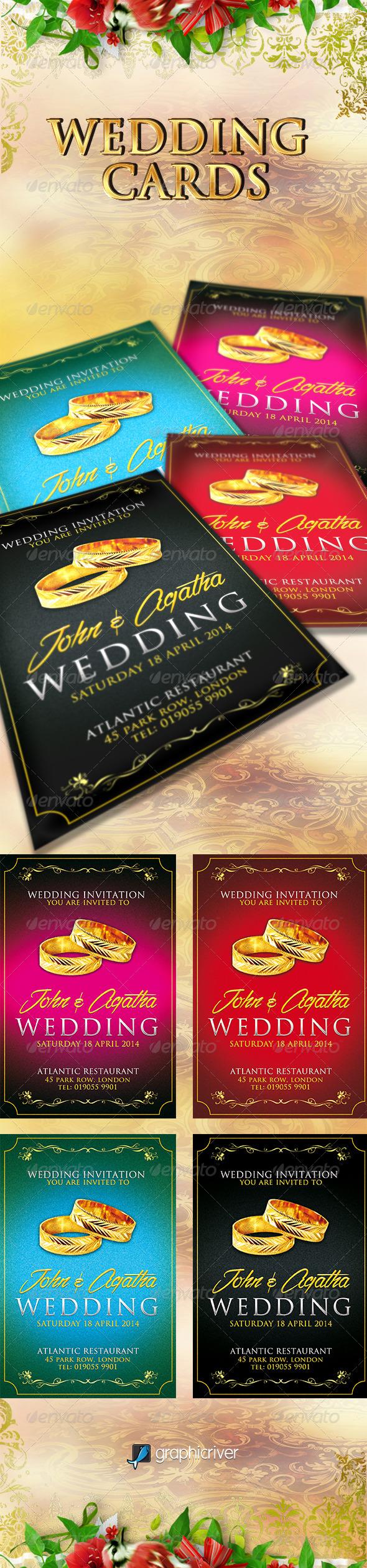 GraphicRiver Wedding Invitation 6790387
