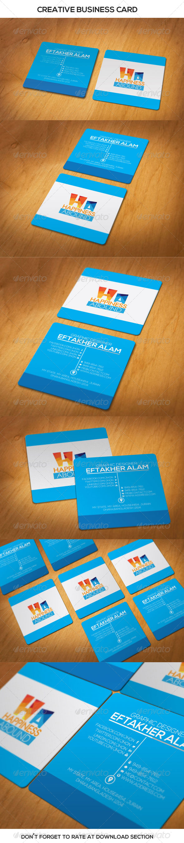 GraphicRiver Creative Pro Business Card 6813187