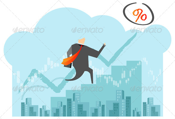 GraphicRiver Business Goal Illustration 6814208