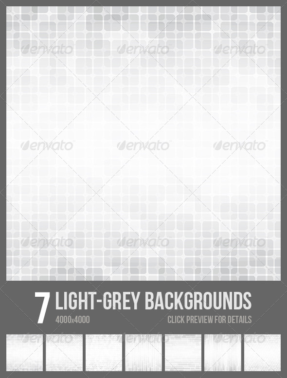 GraphicRiver 7 Light Grey Backgrounds 6814221