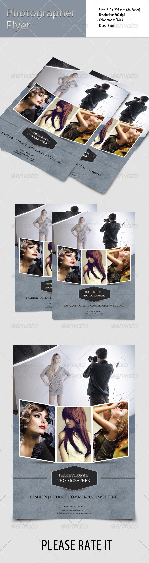 GraphicRiver Flyer for Photographer 6815868