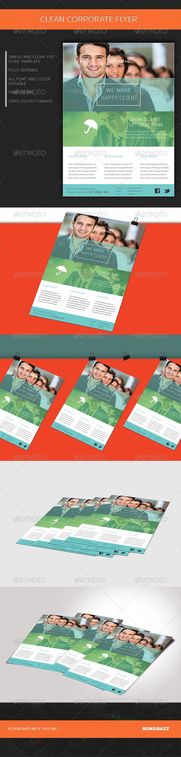 GraphicRiver Clean Corporate Flyer 0.1 6816499