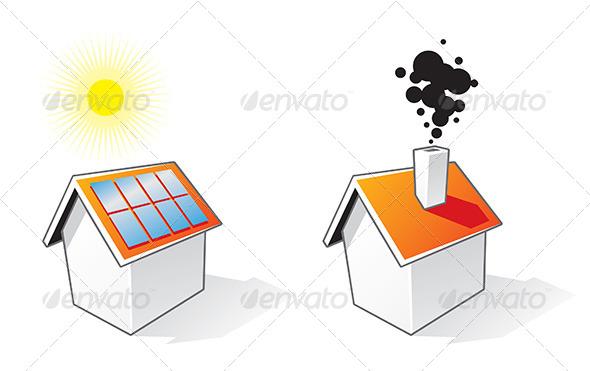 GraphicRiver House Cartoon Icons 6817155