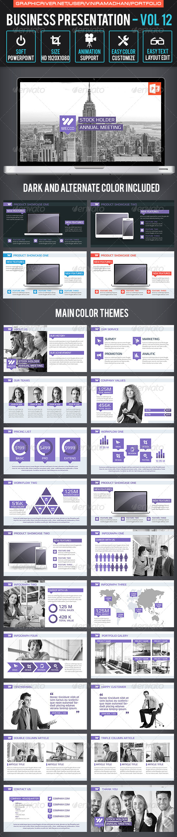 GraphicRiver Business Presentation Volume 12 6817473