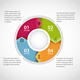 Circle Infographic Template - GraphicRiver Item for Sale