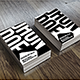 Typography Business Card - GraphicRiver Item for Sale
