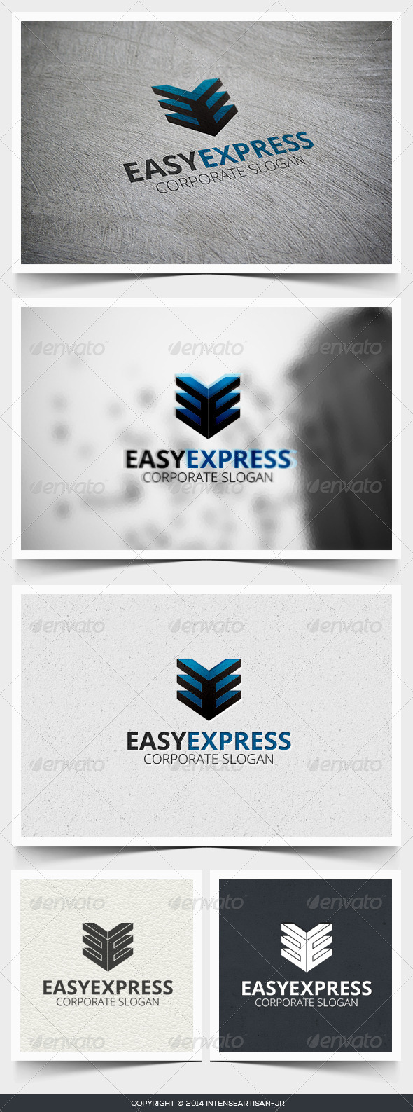 GraphicRiver Easy Express Logo Template 6818156