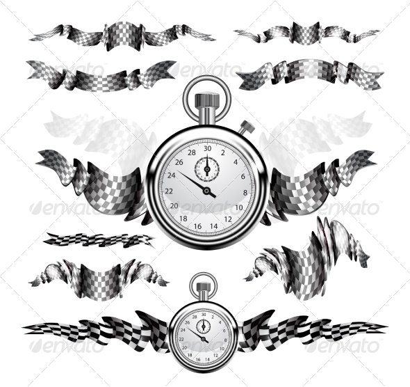 GraphicRiver Checkered Flags 6819679
