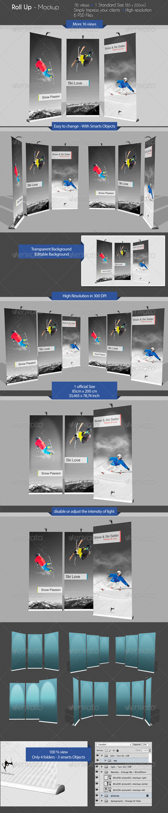 GraphicRiver Roll Up Mock-Ups 6793019