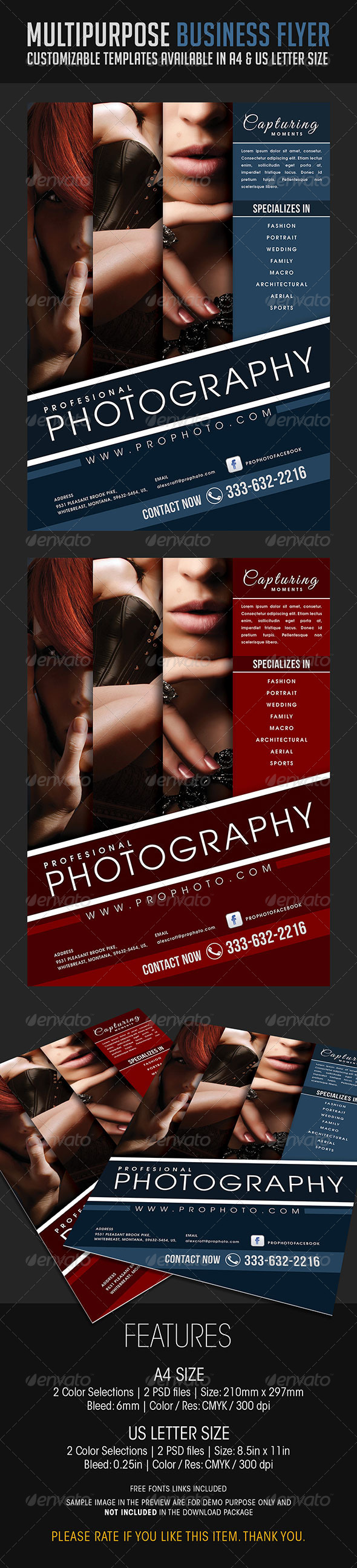 GraphicRiver Multipurpose Business Flyer 08 6821093