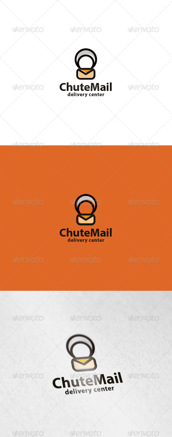 GraphicRiver Chute Mail Logo 6799978