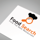 Food Search Logo Template - GraphicRiver Item for Sale