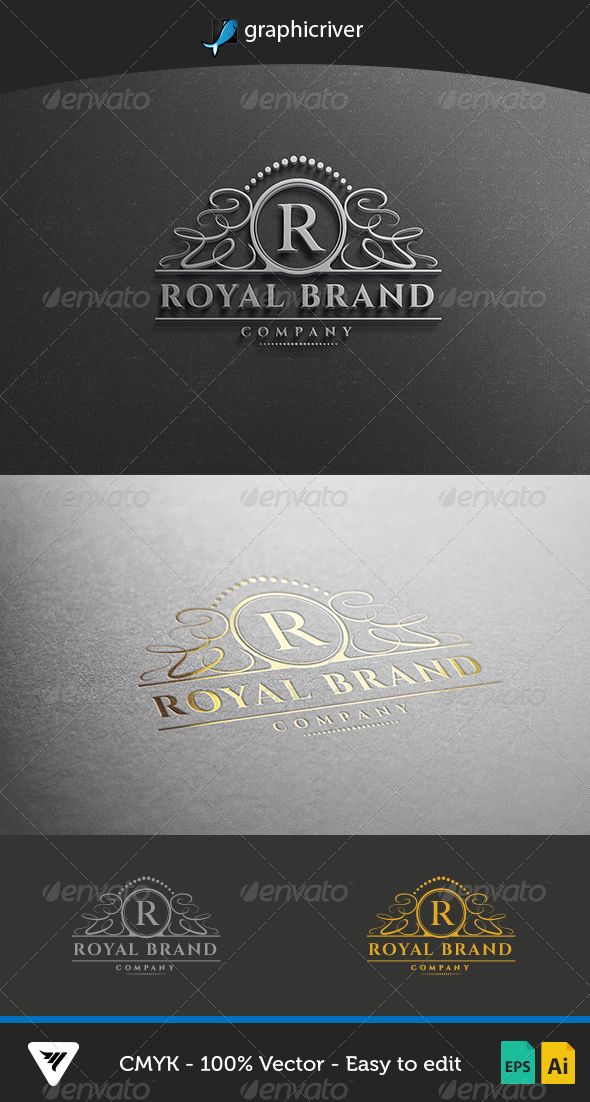 GraphicRiver RoyalBrand Logo 6823297