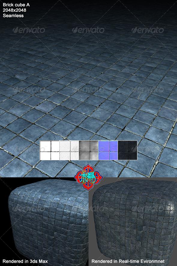 3DOcean Square brick Texture 01 6824376