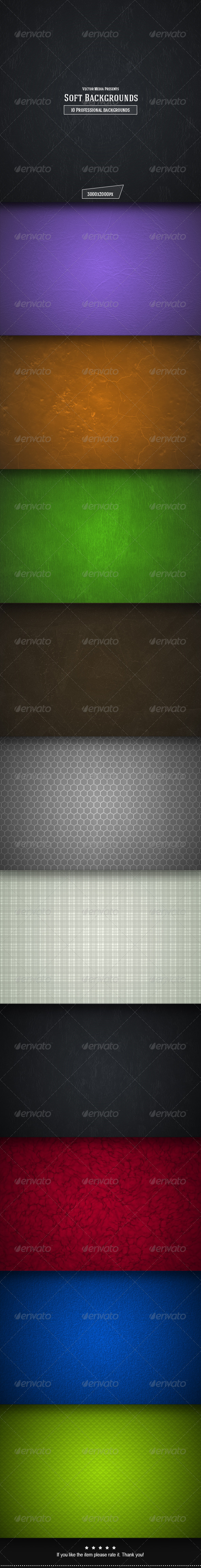 GraphicRiver Soft Backgrounds 6818536