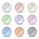 Set of Colored Pill Icons - GraphicRiver Item for Sale