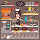 Sweets Shop and Cafe  - GraphicRiver Item for Sale