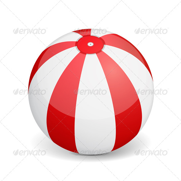 GraphicRiver Beach Ball 6826285