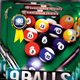 Nine Ball Competition Flyer - GraphicRiver Item for Sale