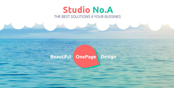 Studio No.A - Creative PSD Templates