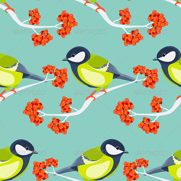 GraphicRiver Tit Seamless Pattern 6826419